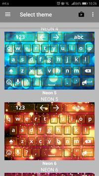 Neon Keyboards screenshot 1