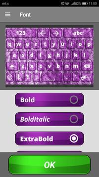 Purple Keyboard Themes screenshot 2