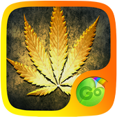 Gold Rasta GO Keyboard Theme icon