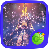 Eiffel Tower Night GO Keyboard Theme icon