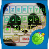 teddy panda GO keyboard theme icon