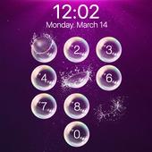 lock screen - bubble icon