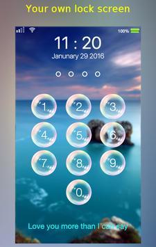 lock screen - bubble screenshot 6