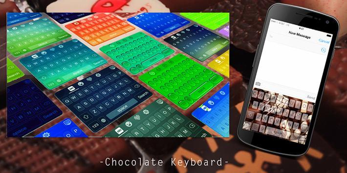 Chocolate Keyboard poster