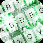 GO Keyboard Green Candy icon