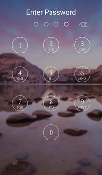 Keypad Lock Screen Plus apk screenshot