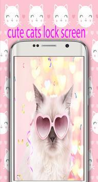 Happy Cat Lock Screen poster
