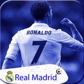 Real Madri|)  Lockscreen  themes wallpaper 2018 HD icon
