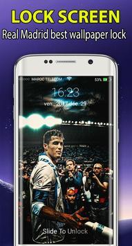 Real Madri|)  Lockscreen  themes wallpaper 2018 HD screenshot 1