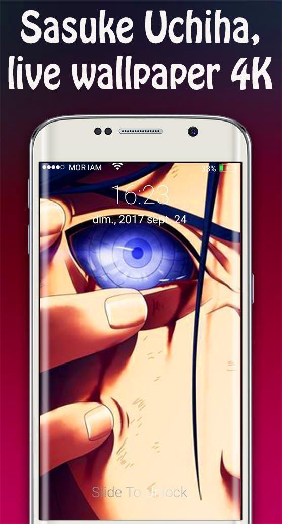 Sasuke Live Wallpapers Anime Lockscreen Version 3 For Android Apk Download