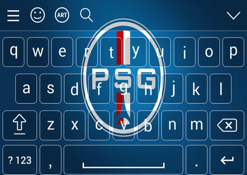 Keyboard For PSG Theme apk screenshot
