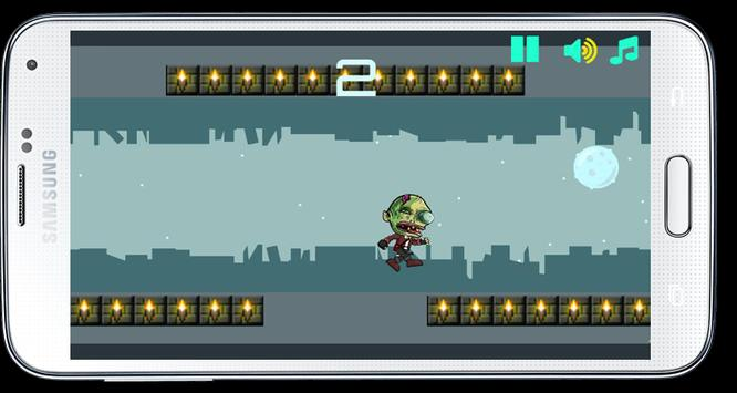 Gravity Flip Zombie apk screenshot