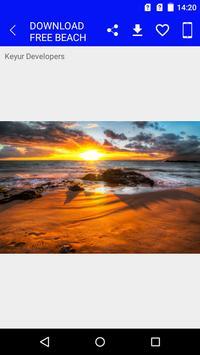 Download Free Beach Wallpapers screenshot 1