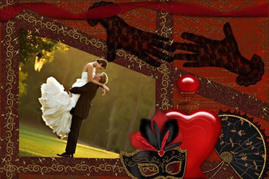 Love Wedding Photo Frames poster