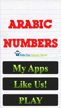 Learn Arabic Numbers poster