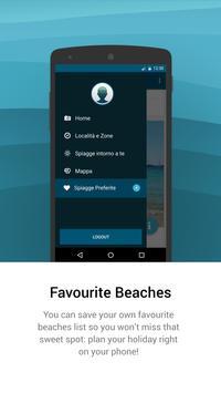 Best beaches Veneto apk screenshot