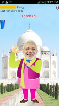 Dancing Modi In Taj Mahal poster