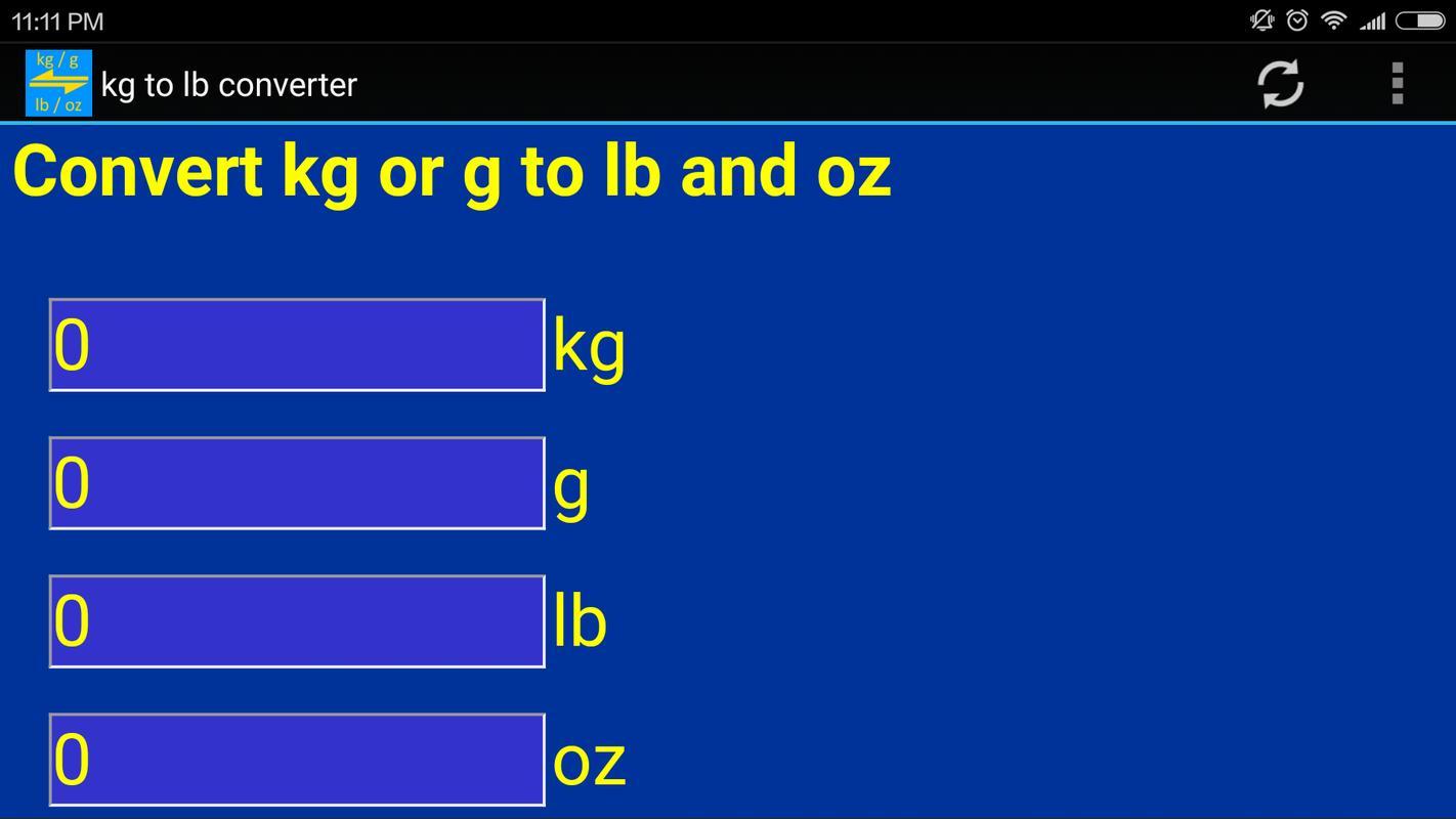 Kg Para Lb Conversor De Peso Imagem Tela 1