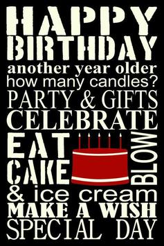 Happy Birthday Wishes apk screenshot