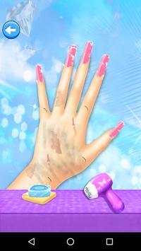 Nail Art Fashion Game For Girl apk screenshot
