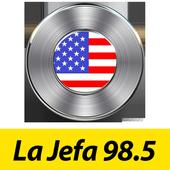 La Jefa 98.5 City of mcallen icon