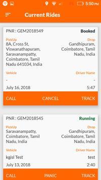 Gem Cabs - Customer screenshot 5