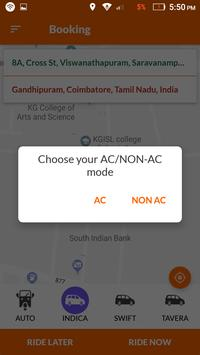 Gem Cabs - Customer screenshot 3