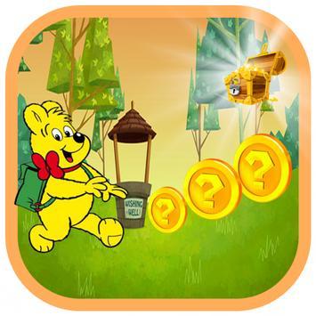 Winny Bear Runner Rush screenshot 1