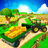 Real Tractor Simulator 3D icon