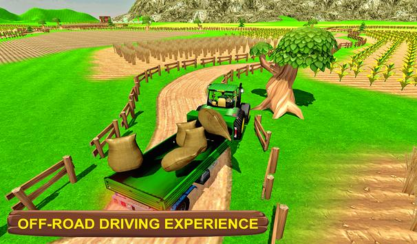 Real Tractor Simulator 3D poster