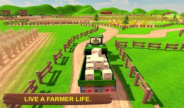 Real Tractor Simulator 3D apk screenshot