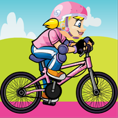 Bike Ride Princess icon