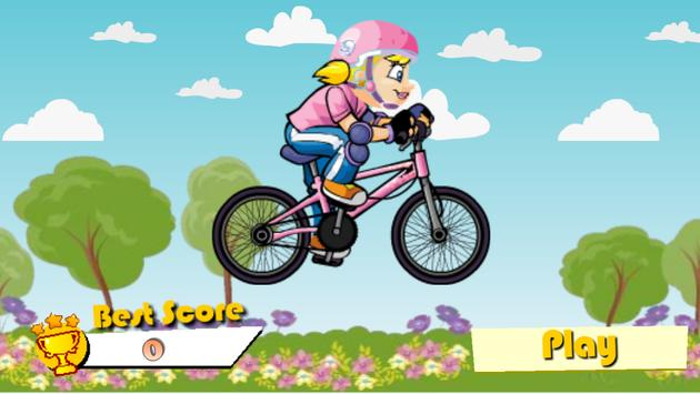 Bike Ride Princess poster