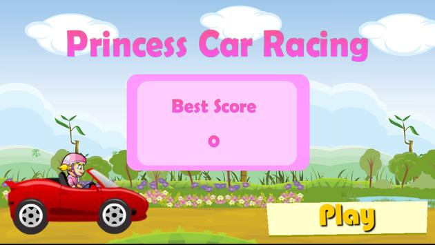 Princess Car Racing poster
