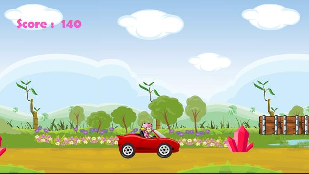 Princess Car Racing screenshot 1