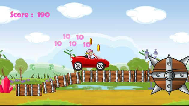Princess Car Racing screenshot 2