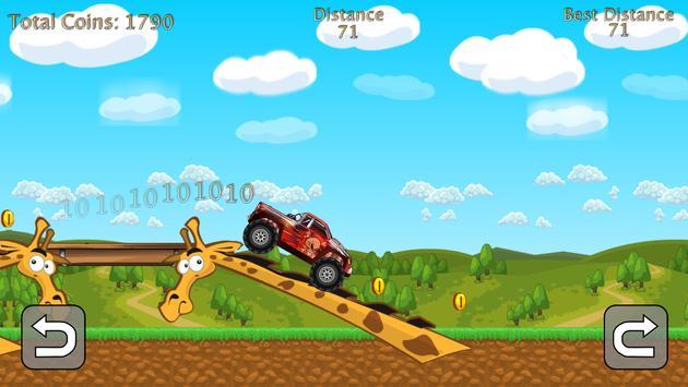 Hill Climb Monster Trucks screenshot 4
