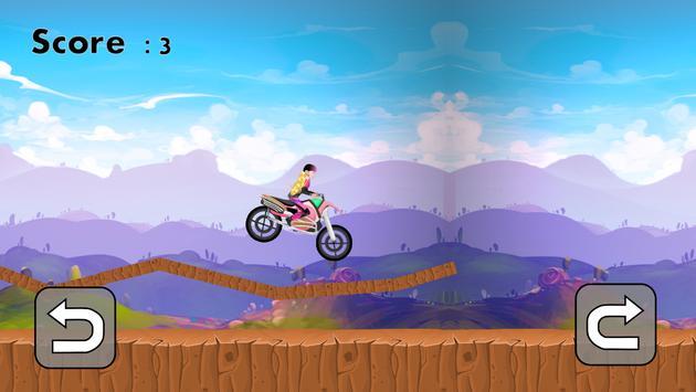 Hill Climb Racing for Barbie apk screenshot