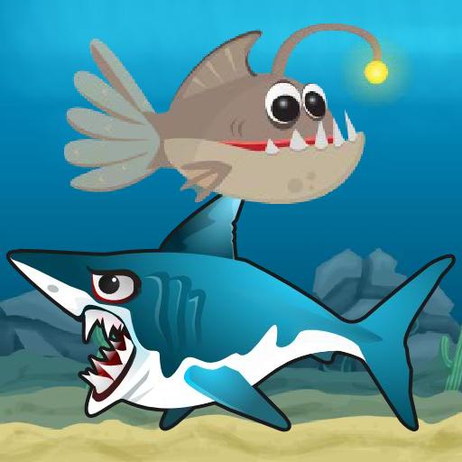 Lantern Fish Shark Attack
