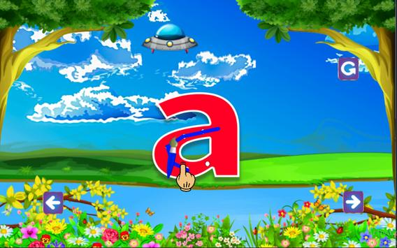 ABC Learning and tracing for kids screenshot 7