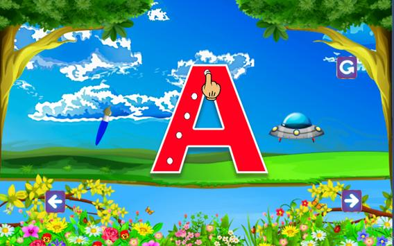 ABC Learning and tracing for kids screenshot 8