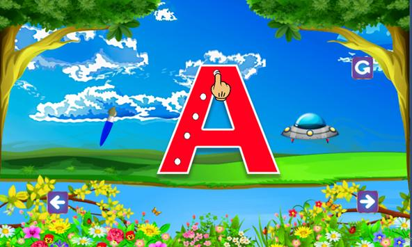 ABC Learning and tracing for kids screenshot 13