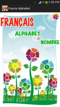 France Alphabets poster
