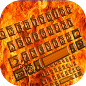 Hot Fire Keyboard Theme icon
