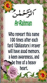 99 Names of ALLAH and Benefits apk screenshot