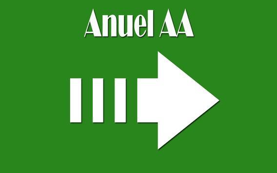 Ayer 2 - Letra Anuel AA apk screenshot
