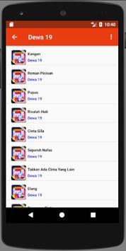 Ost Lagu Roman Picisan Dewa 19 apk screenshot