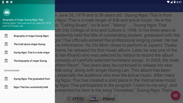 Duong Ngoc Thai Ton screenshot 1