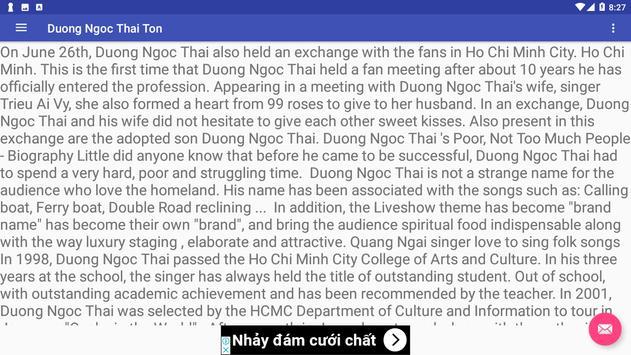 Duong Ngoc Thai Ton screenshot 2