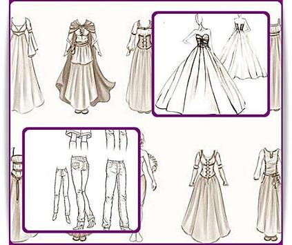 Learn to Draw Clothes screenshot 5